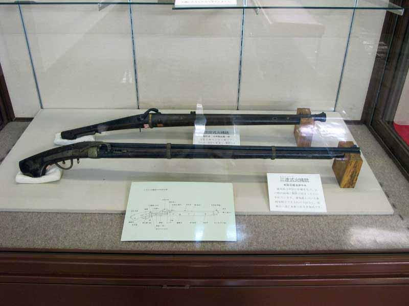米子城の鉄砲類